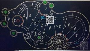 مرحله اول - پلان نقشه اتوکد استخر