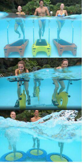 لوازم ورزش در آب استخر