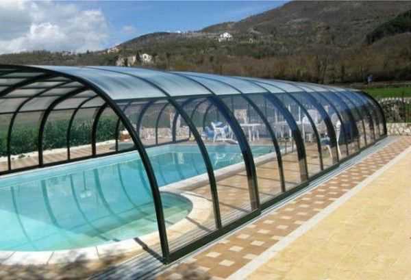سقف متحرک استخر ✓ کاور استخر ✓ پوشش استخر ✓ سقف اتوماتیک برقی استخرproduct image