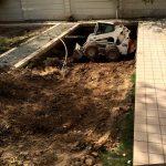 مراحل پیشرفت استخر لواسان-تهران