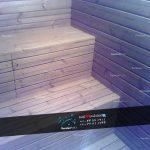 ساخت سونا خشک Thermo wood sauna