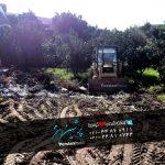 گودبرداری ساخت استخر در تنکابن-چالوس