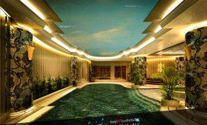 پروژه استخر-شرکت ساختمانی بام-مهندس دلیری