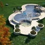 مراحل پیشرفت پروژه استخر و آب نمای سلمانشهر