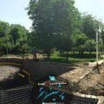 آرماتوربندی و ساخت استخر جکوزی در کرج - واتر استاپ - آرماتور بندی