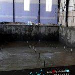 آب بندی استخر : چسب آب کننده استخر سونا و جکوزی