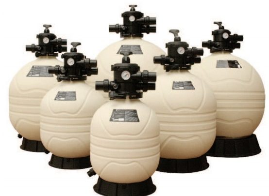 EMAUX SAND FILTER MFV SERIES-TYPES