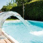 نمونه آب نما| واترفال| پرده آب| کرتین استخر